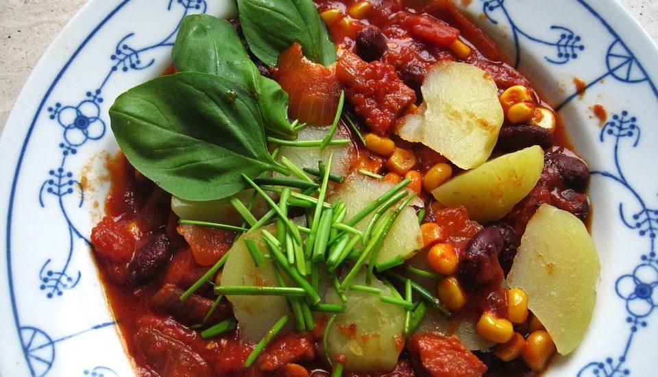 Lokalproducerad lunch i Malå under landsbygdsdagen i Rökå
